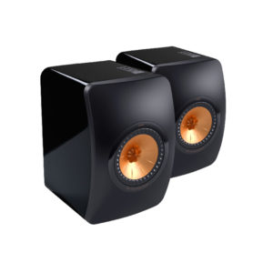 KEF – LS50 Noir laqué