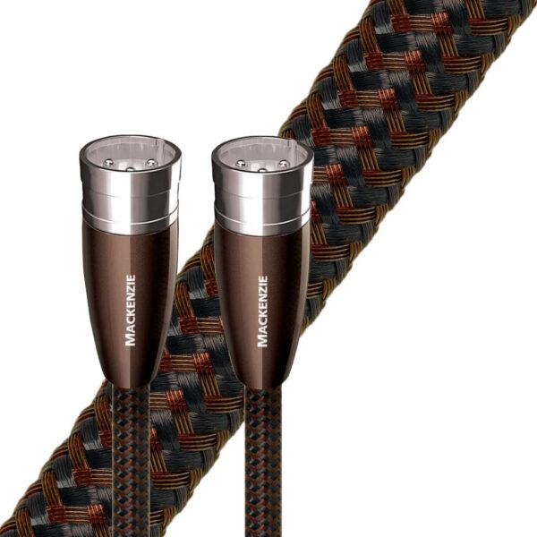 Audioquest-mackenzie-xlr-cable-symétriques-marron-toponil