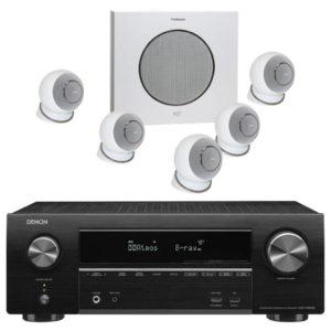 CABASSE / DENON – Pack EOLE 4 5.1 (Neuf) + Amplificateur AVR-X1600H DAB (Stock B)