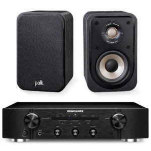 POLK AUDIO / MARANTZ – Pack enceintes S10e (Neuves) + PM5005 (Stock B)