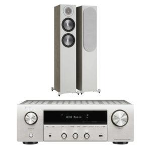DENON / MONITOR AUDIO – Pack BRONZE 200 (Neuves) + DRA 800H (Stock B)