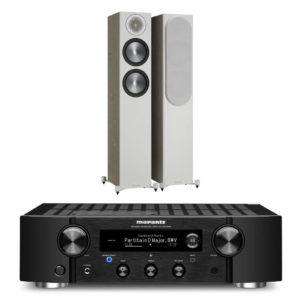 MARANTZ / MONITOR AUDIO – Pack BRONZE 200 (Neuves) + PM7000N Noir (Stock B)